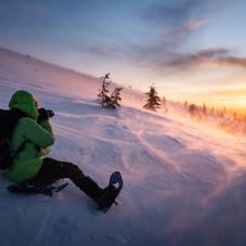 Emmanuel Berthier, L'hiver arctique, Laponie
