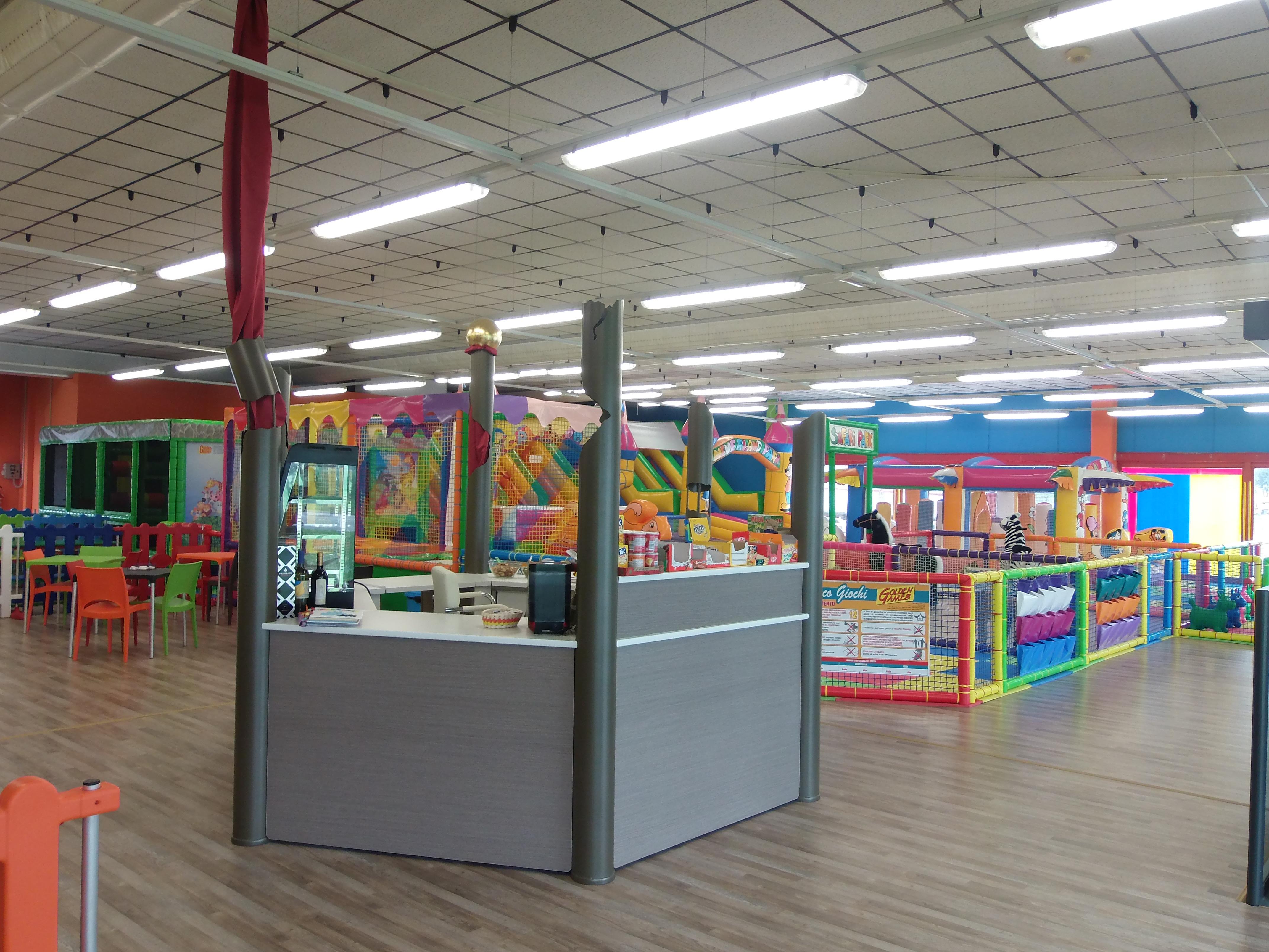 Parco giochi Indoor