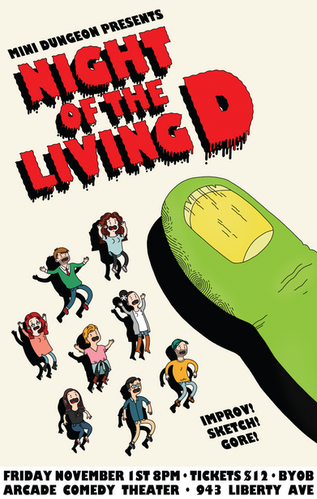 Night of the Living D