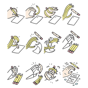 Hand, Pencil, Paper