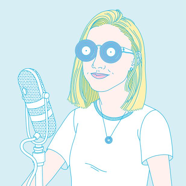 Katie O. on the Radio