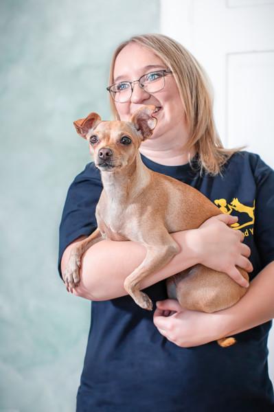 Liebevolle Hundetherapie