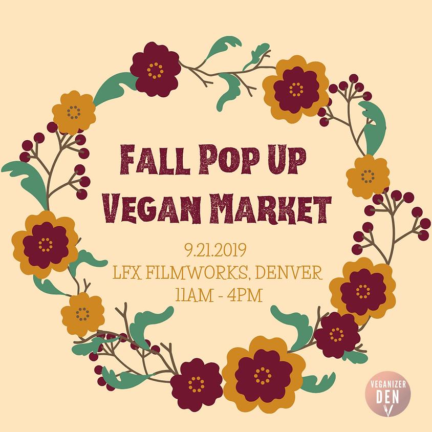 Fall Pop Up Vegan Market