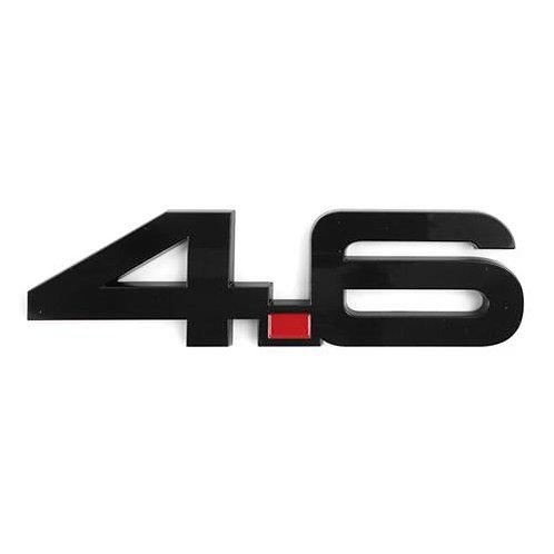 4.6 emblem 05-11 Mustang Flame 4 set.