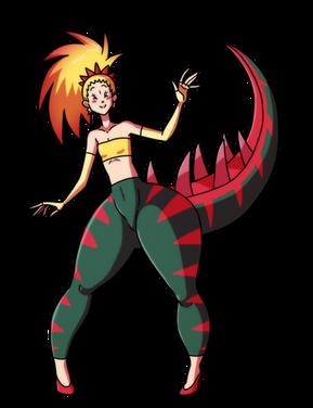 Dracozolt Gijinka