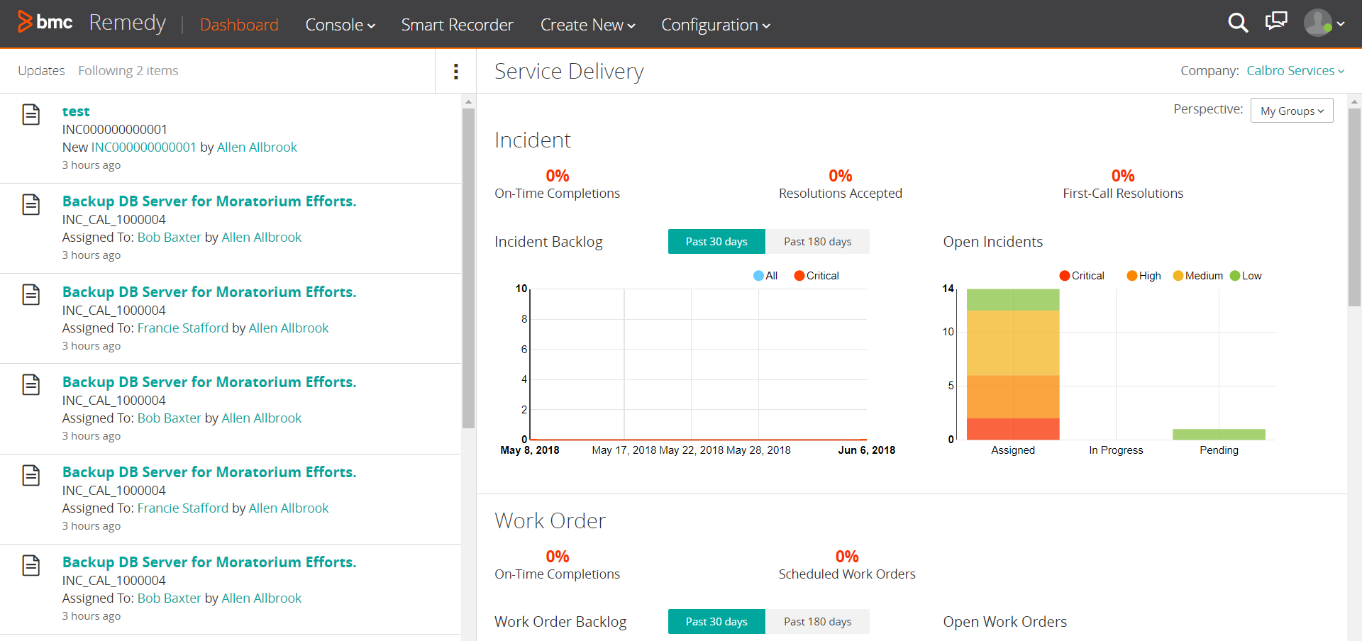 Using Smart IT for Incident Mgmt. (ILO)