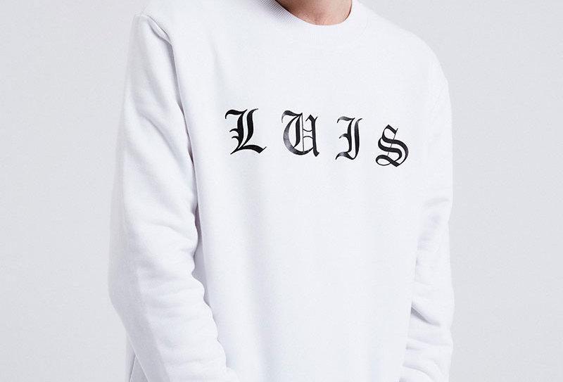 LUIS ZIEGLER - White London Sweater