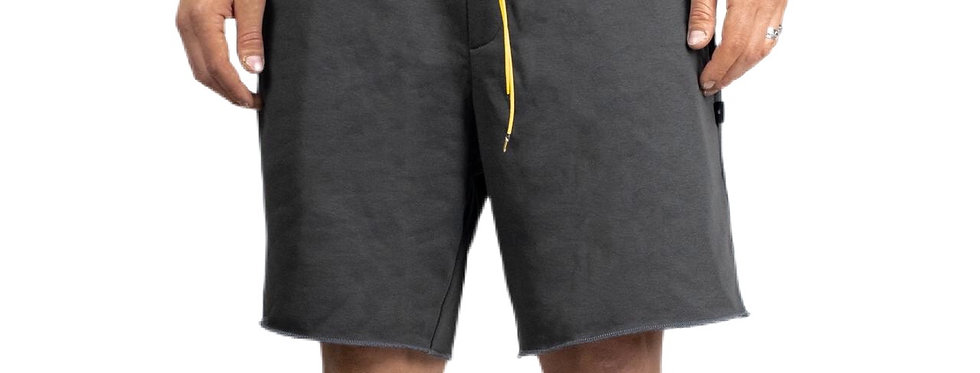 IVOQUÉ - Shorts Grey / Yellow