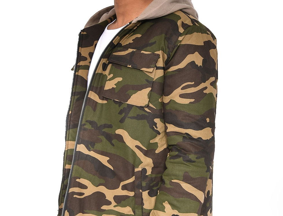12.PARISA. - Army Camouflage Jacket