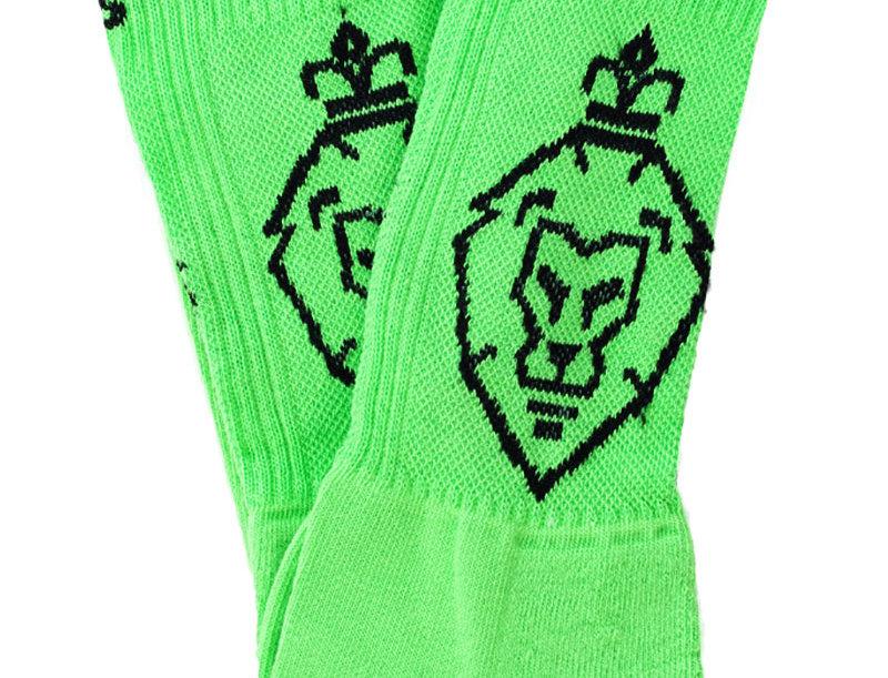 LUIS ZIEGLER - Neon Green Socks