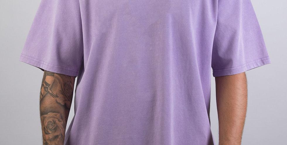 IVOQUÉ - Logo Tee Washed Purple White II