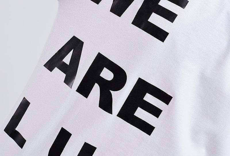 """LUIS ZIEGLER - White """"We are Luis"""" T-Shirt"""