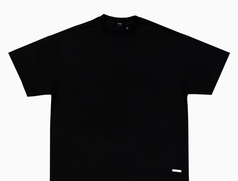 BOMBER CLOTHING - Blank T-Shirt Pure Black