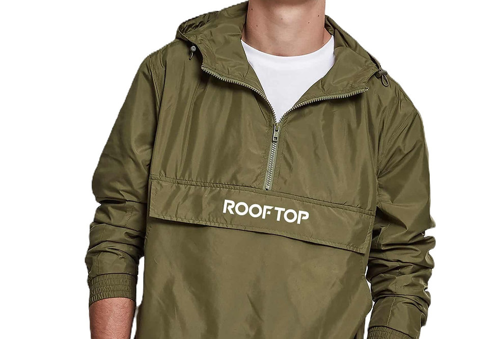 ROOFTOP - Windbreaker Classic Olive