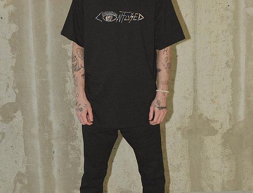 "C(O)NFU$3D CLOTHING BY J.KWAN - ""DVD"" Logo T-Shirt"