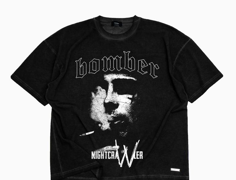 BOMBER CLOTHING - Immortal T-Shirt Vintage Black