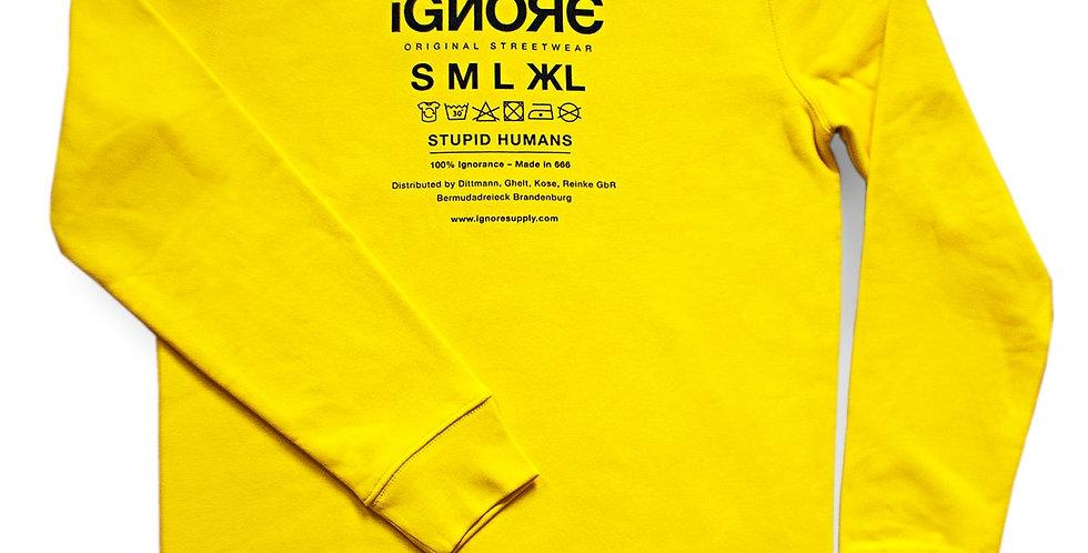 IGNORE SUPPLY - Ignore Sweater Yellow
