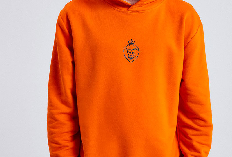 "LUIS ZIEGLER - Orange ""WE are Luis"" Hoodie"