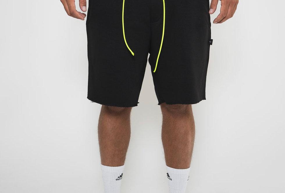 IVOQUÉ - Ivoqué Shorts Black / Neon Yellow