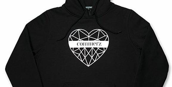 COMMERZ - Heart Hoodie