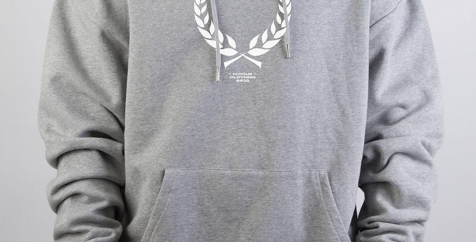 IVOQUÉ - Ivo Hoodie Light Grey Trophy White
