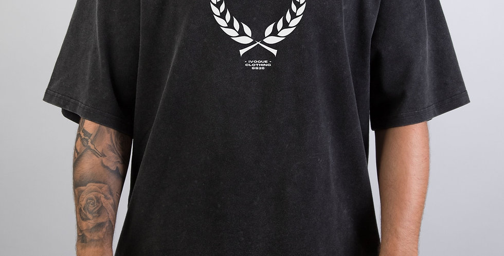IVOQUÉ - Ivo Tee Washed Black Trophy
