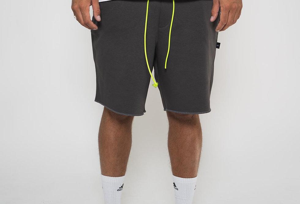 IVOQUÉ - Ivoqué Shorts Grey / Neon Yellow