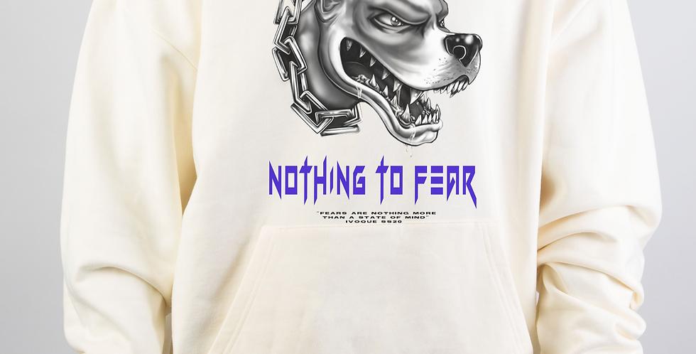 IVOQUÉ - Hoodie Cream Fear