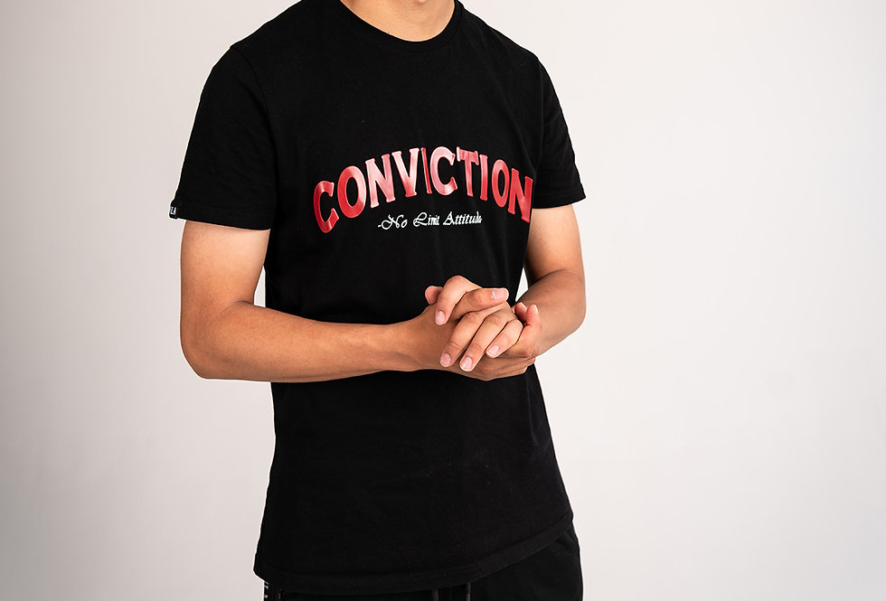 NO LIMIT ATTITUDE - Conviction T-Shirt