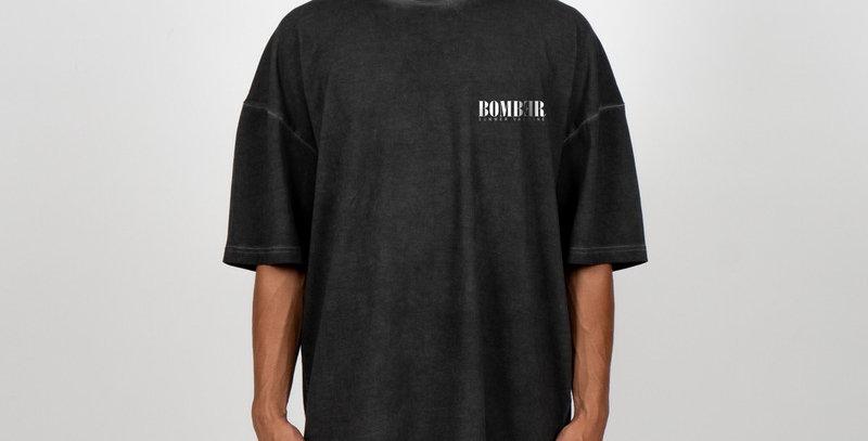 BOMBER CLOTHING -Vintage Black Summer Vaccine T-Shirt