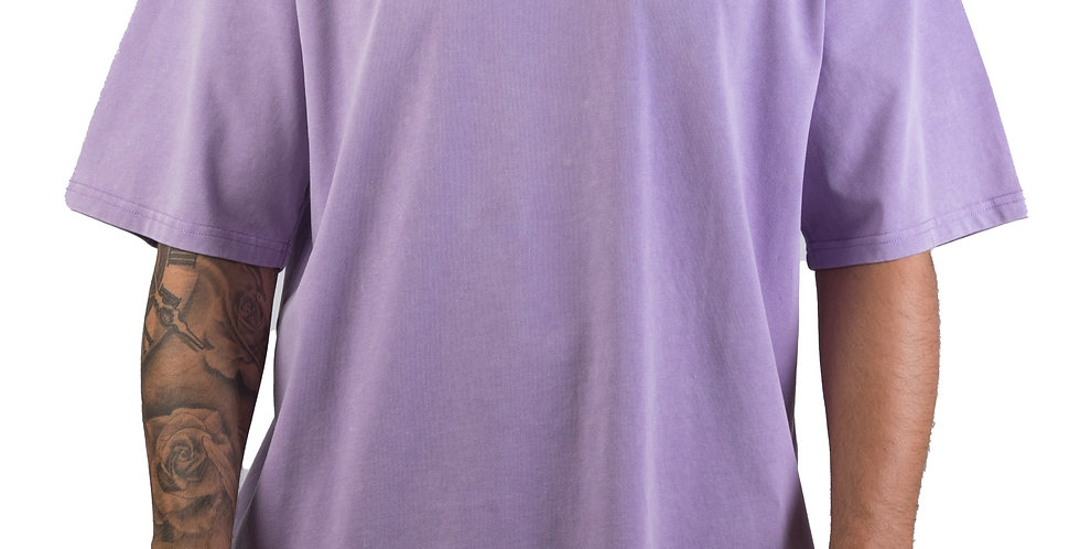 IVOQUÉ - Tee Washed Purple Social