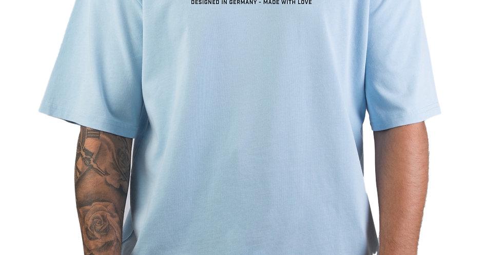 IVOQUÉ - Tee Washed Blue Logo lll