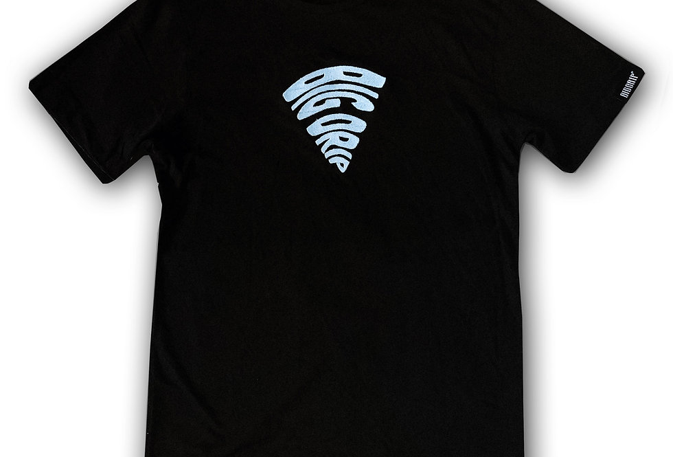 BIG DRIP - Abstract T-Shirt Schwarz