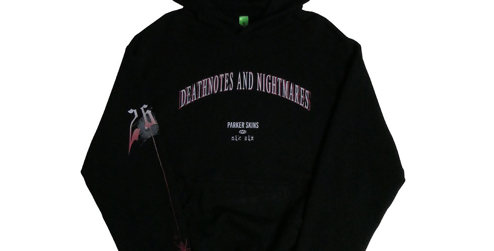 PARKERSKINS - Deathnotes And Nightmares Hoodie
