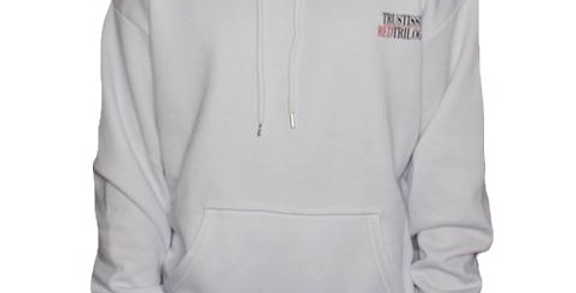 TRUST ISSUES - White Red Trilogy Hoodie