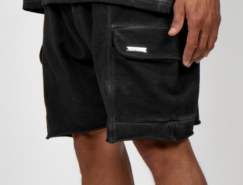 BOMBER CLOTHING - Vintage Black Box Shorts