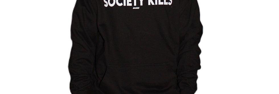 OWNED - Society Kills Hooded Black