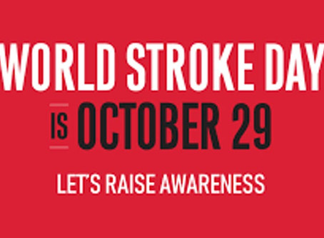 Today is World Stroke Day 2019