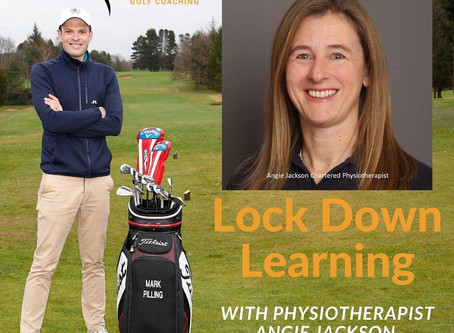 How do you handle pressure on the golf course?