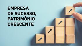 EMPRESA DE SUCESSO, PATRIMÔNIO CRESCENTE