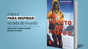 PARA INSPIRAR // livro // no teto do mundo