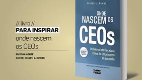 PARA INSPIRAR // livro // onde nascem os CEOs