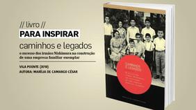 PARA INSPIRAR // livro // caminhos e legados