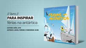 PARA INSPIRAR // livro // férias na antártica