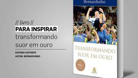 PARA INSPIRAR // livro // transformando suor em ouro