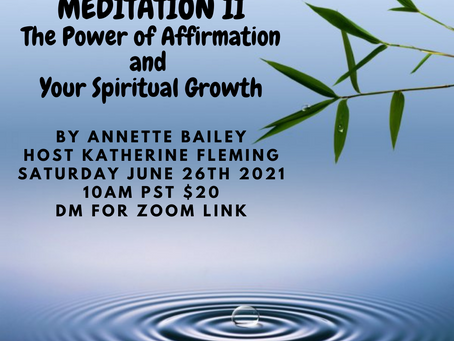 The Power of Affirmation and                Your Spiritual Growth