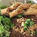 B7. Bun Bo Nuong Cha Gio (Grilled Beef and Spring Roll Vermicelli)
