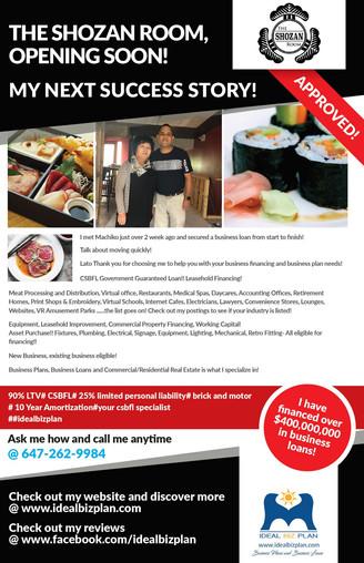 Shozan Room, Sushi Restaurant Experience!