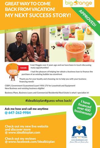 Bubble Tea Success Story!