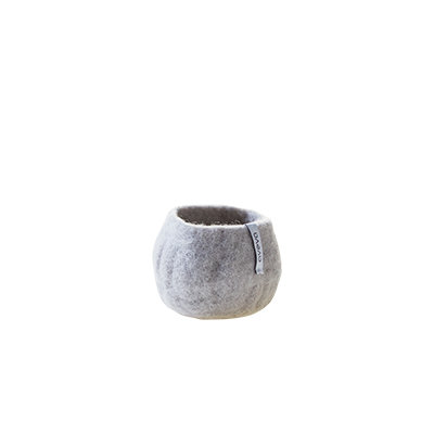 AVEVA flower pot, light grey (Small)